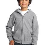 Youth Heavy Blend™ Full Zip Hooded Sweatshirt