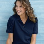 Ultra Cotton Women's Pique Knit Sport Shirt