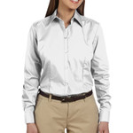 Ladies' Solid Silky Poplin