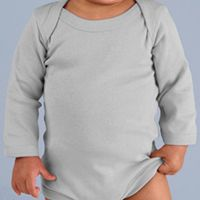 Infant Long-Sleeve Baby Rib Bodysuit Thumbnail