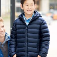 32 Degrees Youth Packable Hooded Down Jacket Thumbnail