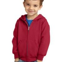 Toddler Core Fleece Full Zip Hooded Sweatshirt Thumbnail