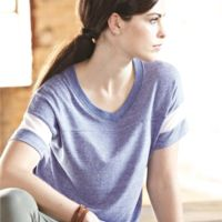 Women's Eco-Jersey™ Powder Puff Tee Thumbnail