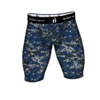 Digital Camo Compression Short Thumbnail
