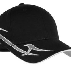 Racing Cap with Sickle Flames Thumbnail