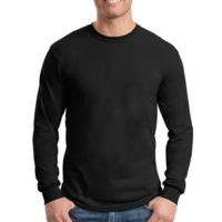 Heavy Cotton 100% Cotton Long Sleeve T Shirt Thumbnail