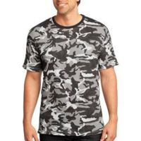™ Mens Perfect Weight Camo Crew Tee Thumbnail
