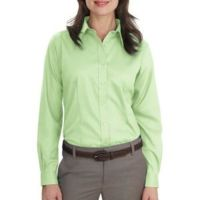 Ladies Long Sleeve Non Iron Twill Shirt Thumbnail