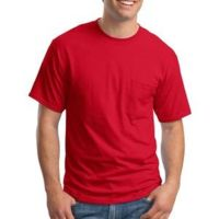 Beefy T® 100% Cotton T Shirt with Pocket Thumbnail