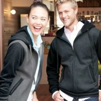 Unisex Varsity Full-Zip Hooded Sweatshirt Thumbnail