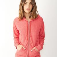 Eco-Fleece™ Women's Adrian Hooded Full-Zip Sweatshirt Thumbnail