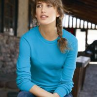 Women's Cortney Long Sleeve Thermal T-Shirt Thumbnail