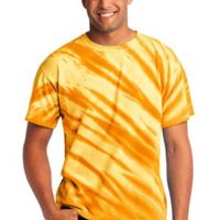 Essential Tiger Stripe Tie Dye Tee Thumbnail