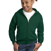 Youth ComfortBlend® EcoSmart® Full Zip Hooded Sweatshirt Thumbnail